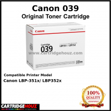 Canon Cart 039 Toner (11,000 pgs) For Canon LBP-351x/ LBP352x Printer