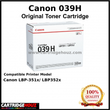 Canon Cart 039H Toner (25,000 pgs) For Canon LBP-351x/ LBP352x Printer