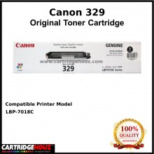 (Optional Color ) [ GENUINE ] Canon Cart 329 (1.2K pgs) Toner For LBP-7018C Printer