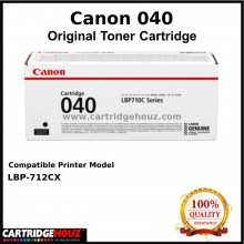 Canon Cart 040 (Black) (6.3K pgs) Toner For LBP-712Cx Printer