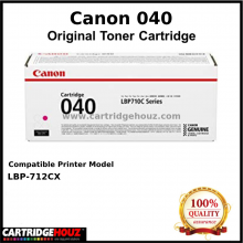 Canon Cart 040 (Magenta) (5.4K pgs) Toner For LBP-712Cx Printer