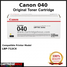 Canon Cart 040 (Yellow) (5.4K pgs) Toner For LBP-712Cx Printer