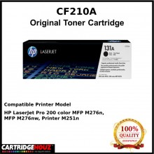 (Optional Color) [ GENUINE ] HP CF210A / CF211A / CF212A / CF213A (131A)  Toner For HP LJ 200 M251/M276