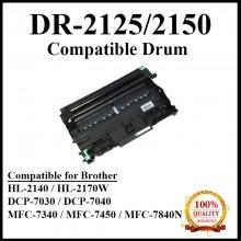 Compatible Brother DR2125 / DR-2125 Drum Cartridge for Brother DCP 7030 / DCP 7040 / DCP 7045N / MFC 7320 / MFC 7340 / MFC 7450 / MFC 7440N / MFC 7840N / MFC 7840W / HL 2140 / HL 2150N / HL 2170W Printer