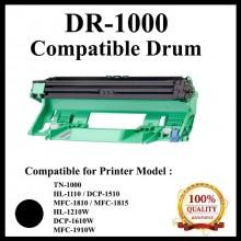 Compatible Brother DR1000 / DR-1000 Drum Cartridge (DR-1000)