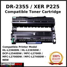 Compatible Brother DR2355 / DR-2355 / Xerox P225 Drum Cartridge (DR-1000 / Xer P225) for HL-L2360DN / HL-L2365DW / DCP-L2540DW / MFC-L2700D / MFC-L2700DW / MFC-L2740DW - NEW