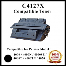 Compatible HP C4127X / 27X / C4127 ( 27X /27A )Toner Cartridge for HP 4000 / 4000N / 4000SE / 4000T / 4000TN / 4050 Printer